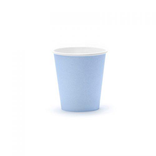 vaso azul cielo -floristería iglesias