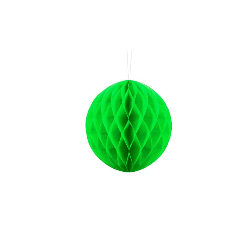 bolas de panal verde -floristería iglesias