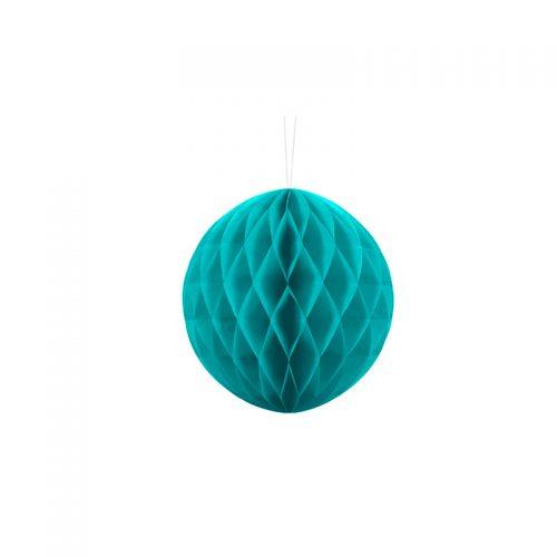 bolas de panal azul -floristería iglesias