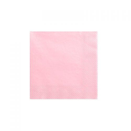 servilleta rosa -floristería iglesias
