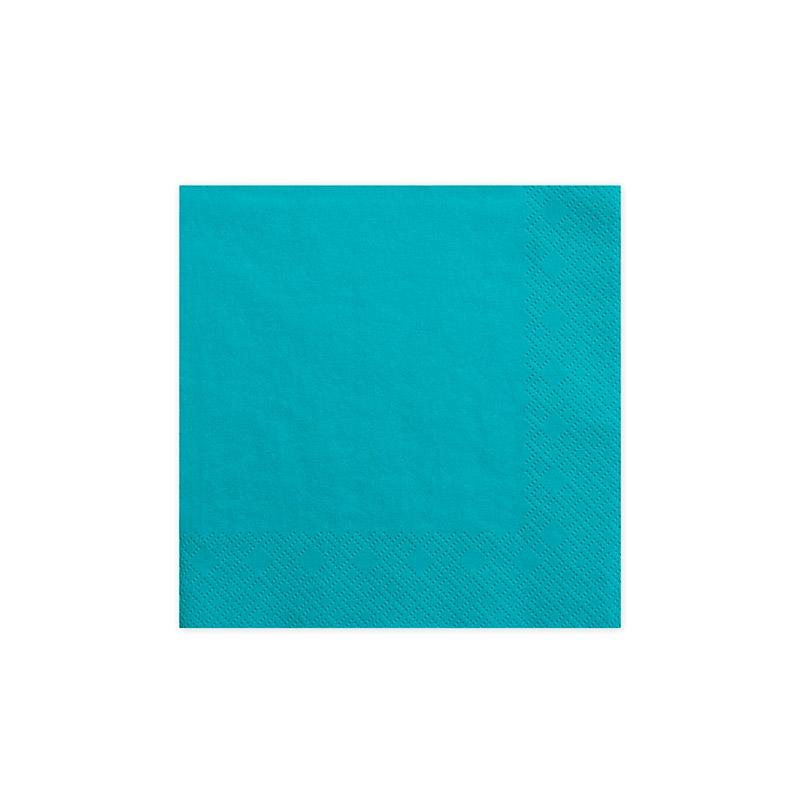 servilleta azul -floristería iglesias