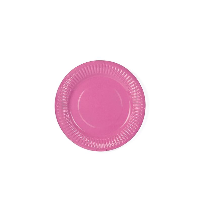 plato rosa -floristería iglesias