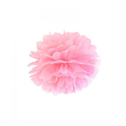 pompón rosa claro-floristería iglesias