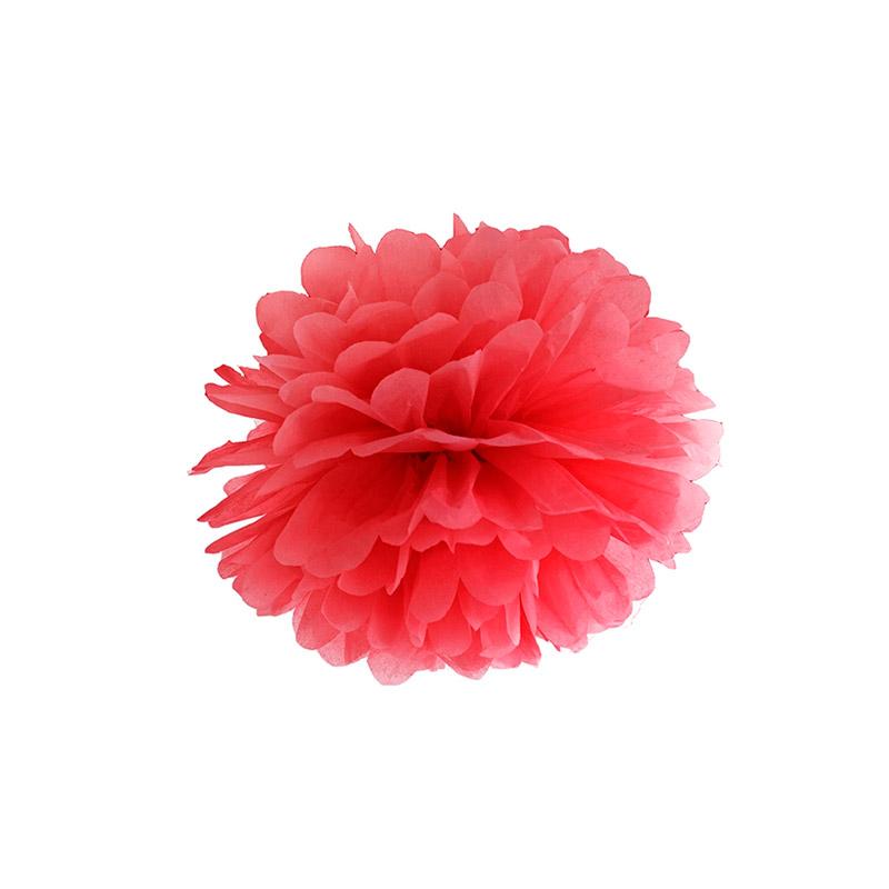 pompón rojo -floristería iglesias