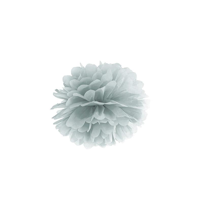 pompón azul oscuro -floristería iglesias