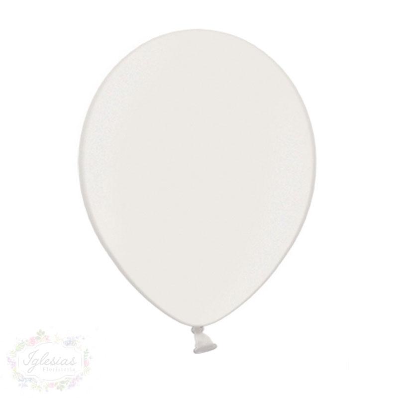 globo blanco - iglesiasfloristeria - fiesta