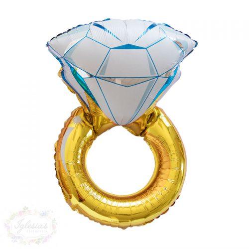 globo anillo - iglesiasfloristeria - fiesta