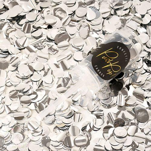 confeti plata - iglesiasfloristeria - fiesta